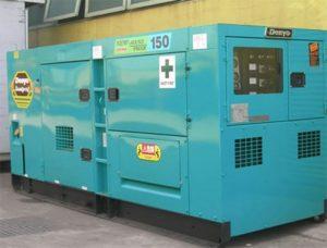 Denyo sử dụng hệ thống nhiên liệu diesel