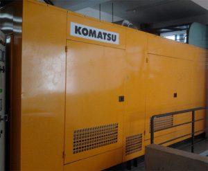Komatsu sử dụng hệ thống nhiên liệu diesel