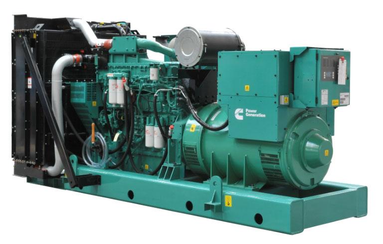 Máy phát điện Cummins công suất 350 kva,