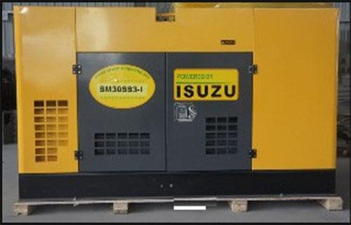 Máy phát điện Isuzu công suất 1250kva