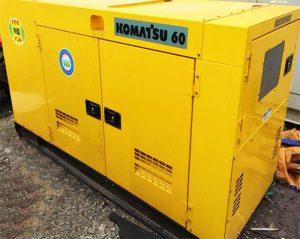 Máy phát điện Komatsu chống ồn tốt