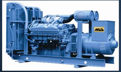 Máy phát điện Mitsubishi công suất 1000kva