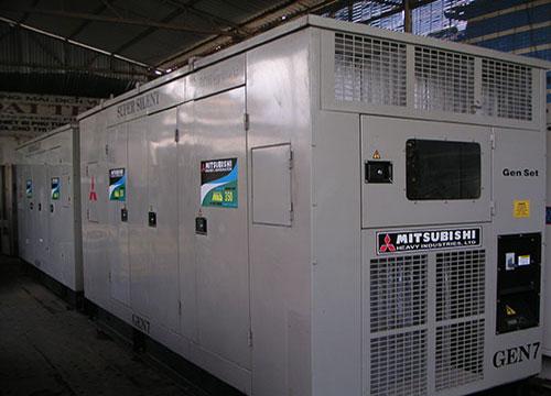 Máy phát điện Mitsubishi công suất 600kva