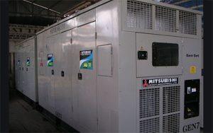 Máy phát điện Mitsubishi công suất 750kva