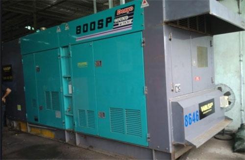 Máy phát điện Mitsubishi công suất 800kva