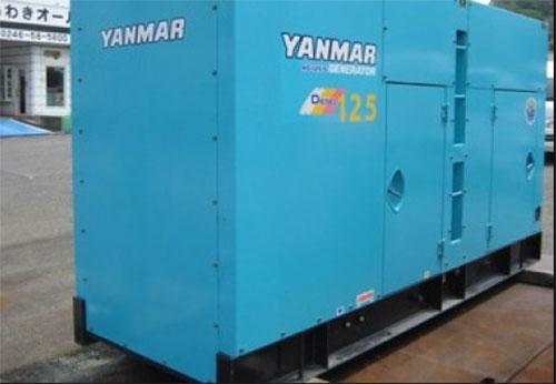 Máy phát điện Yanmar công suất 125kva