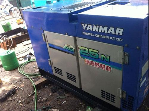 Máy phát điện Yanmar công suất 25kva