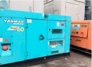 Máy phát điện Yanmar công suất 60kva