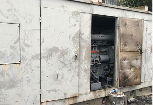 Máy phát điện Yanmar công suất 750kva