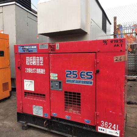 Máy phát điện Isuzu 100kva chất lượng Nhật Bản