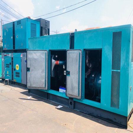 Máy phát điện Isuzu 100kva chính hãng