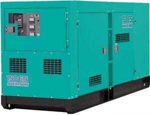 Máy phát điện Komatsu nhập khẩu từ Nhật