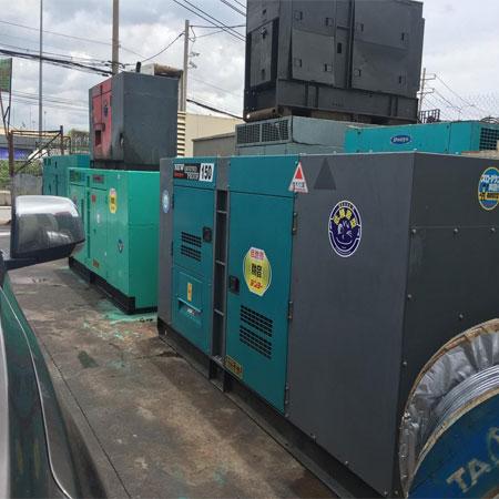 Máy phát điện Denyo chất lượng Nhật Bản